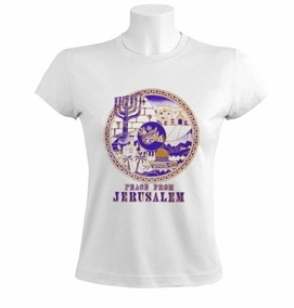 peace from jerusalem Women T-Shirt