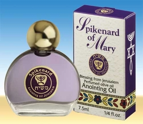 Perfumed Spikenard Anointing Oil  from the Holy Land