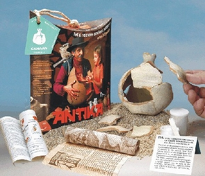 Bible Study Tools - 3D pottery puzzles  CANAAN