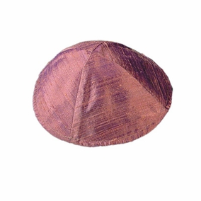 Raw Silk Kippah ( YAR- 3) CAT# YAR- 3