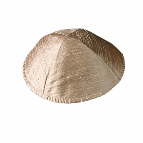 Raw Silk Kippah ( YAR- 4) CAT# YAR- 4