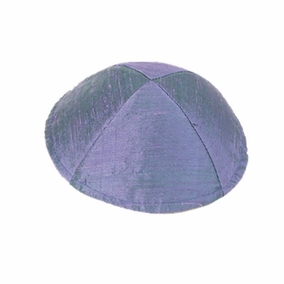 Raw Silk Kippah ( YAR- 5) CAT# YAR- 5