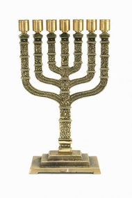 Reconstruction Of  The Temple Menorah