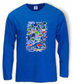 Red Sea Fish Long Sleeve T-Shirt