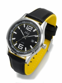 RED stainless steel sports watch - 2993