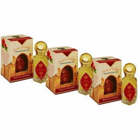 Scent of Galilee Rose of Sharon Anointing Oil Value Pack - 3 x 10ml
