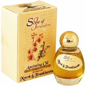 Scent of Jerusalem - Anointing Oil Myrrh and Frankincense
