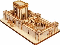 Jerusalem Second Temple, Wood Model - from the Holy Land