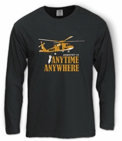 Shayetet 13, Anytime, Anywhere Long Sleeve T-Shirt