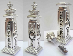 Silver Tower Besamim set