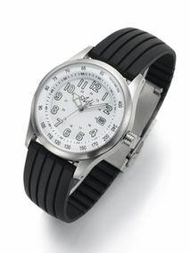 Sport elegant stainless steel gent's watch - 2356