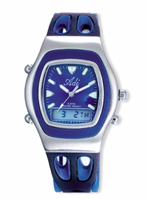 Sporty analog-digital gent's watch - 414