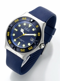 Sporty stainless steel diving watch - 401