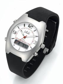 Sporty stainless steel gent's watch - 718