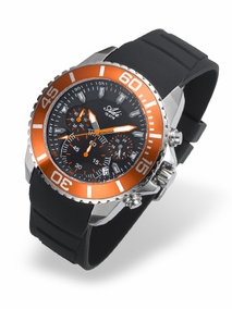 Sporty watch for man - 3382 - orange