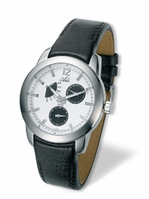 stainless steel gent's watch - 2642