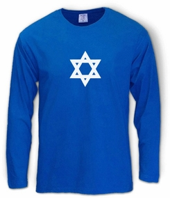Star of David Long Sleeve T-Shirt