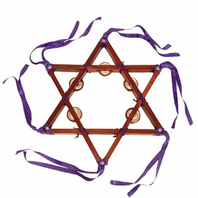 Star of David Tambourine - Plain CAT# SDT- 1
