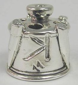 Sterling Silver Alphabetic Penholder