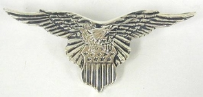 Sterling Silver Big eagle Brooch