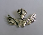 Sterling Silver Breast Brooch