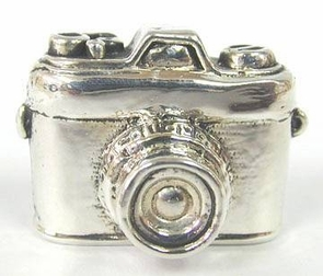 Sterling Silver Camera