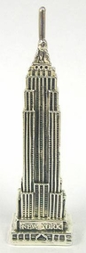 Sterling Silver Empire State Building