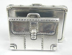 Sterling Silver Files Card Holder