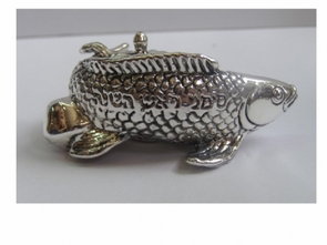 Sterling Silver Fish with Honey Jam
