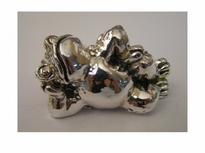 Sterling Silver Frog