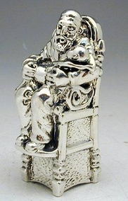 Sterling Silver Godfather Miniature
