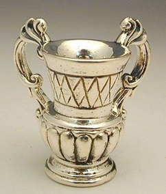 Sterling Silver hand washing laver miniature