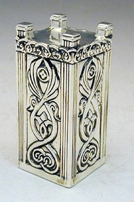 Sterling Silver Holy Temple´s Mizbaeach (Outer Alter)