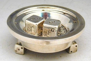 Sterling Silver Miniature Roulette