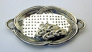 Sterling Silver Sabbath Challah Tray Miniature