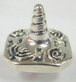 Sterling Silver Screw Dreidel