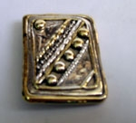 Sterling Silver Square Beads Brooch