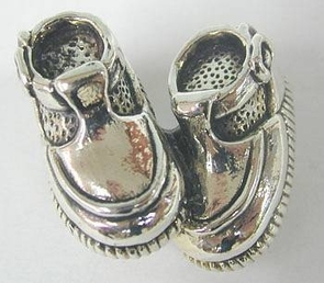 Sterling Silver Sterling Silver Small Shoes
