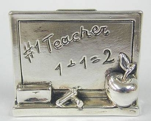 Sterling Silver Teacher Board