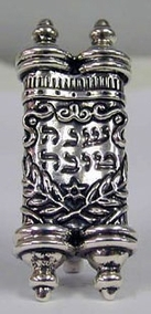 Sterling Silver Torah Book