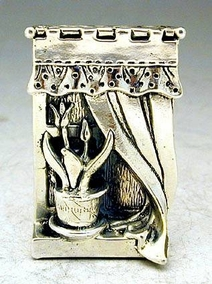 Sterling Silver Windowsill Miniature