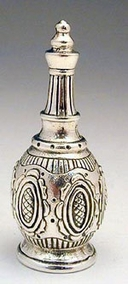 Sterling Silver  Wine Bottle Sunflower
