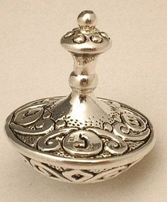Sterling Silver Yemenite Round Big Drydele