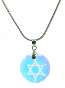 Swarovski Magen David crystal Necklace