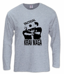 Tactical Krav Maga Long Sleeve T-Shirt