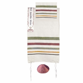 "Tallit Judaism CAT# TSW- 4, 42"" X 71"""