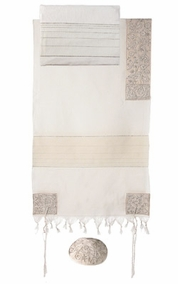 "Tallit sets CAT# THE- 6, 42"" X  75"""