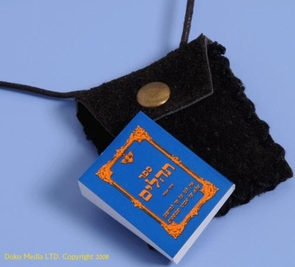 Tehilim Book Necklace - Jewish Psalms Book Necklace
