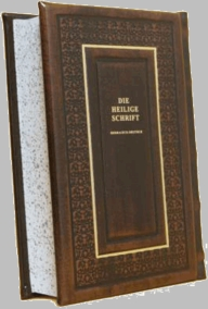 The Bible with German translation