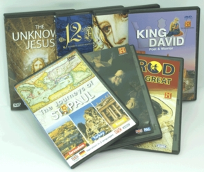 The Heroes of the Bible - 7 DVDs Christian Gift Pack